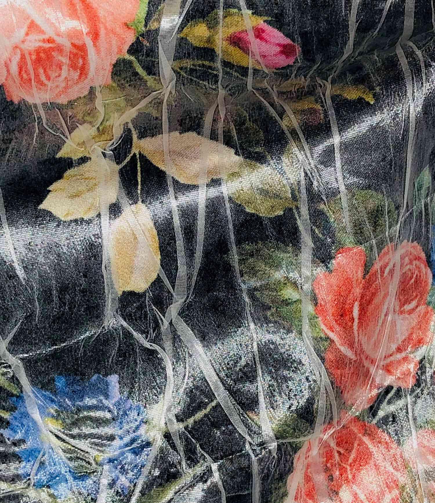 Printed Fabrics - satinude - SATINUDE Viscose Polyester Silk