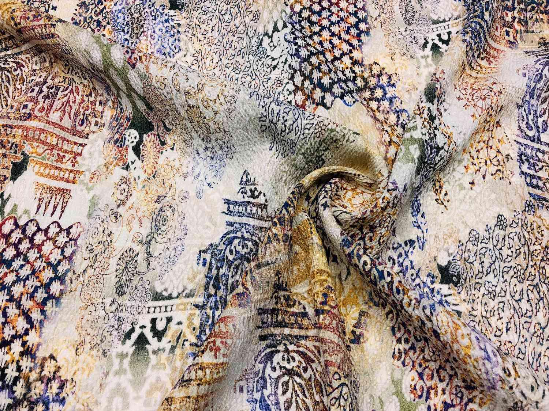 Printed Fabrics - lino light stretch - LINO LIGHT STRETCH Linen Elastan