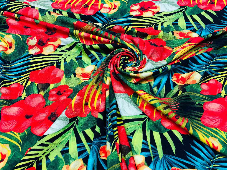 Printed Fabrics - jersey 30 fermo - JERSEY 30 FERMO Cotton