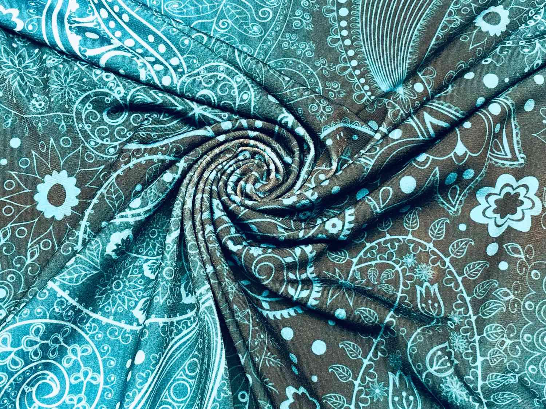 Printed Fabrics - tivoli ity - TIVOLI ITY Polyester Elastan