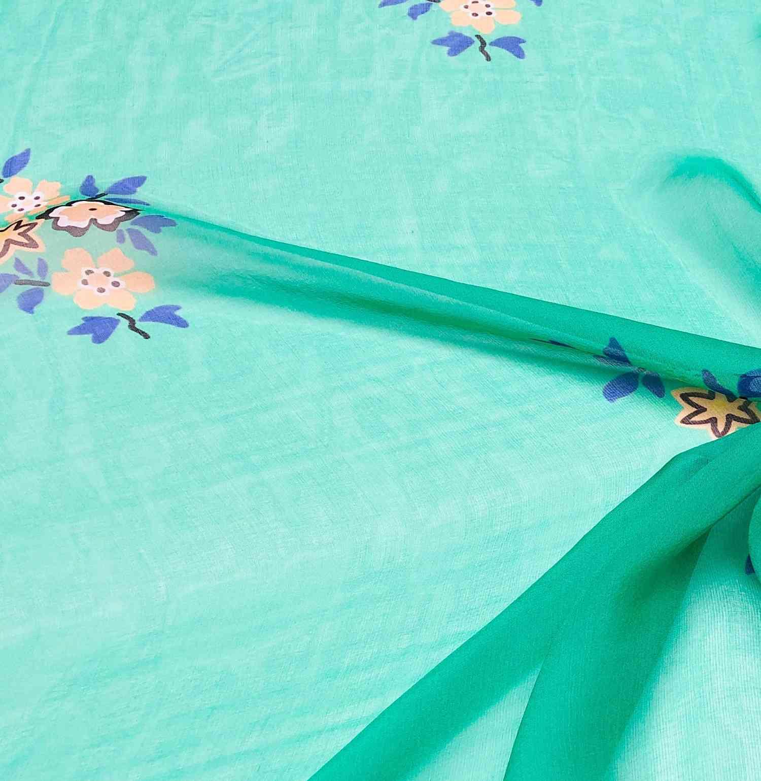 Printed Fabrics - chiffon 6mm - CHIFFON 6MM Silk