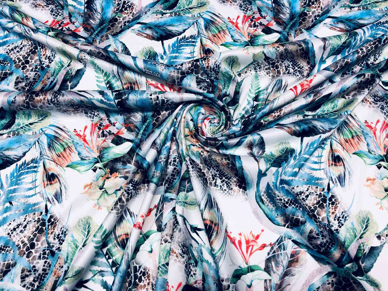 Printed Fabrics - mela - MELA Polyester