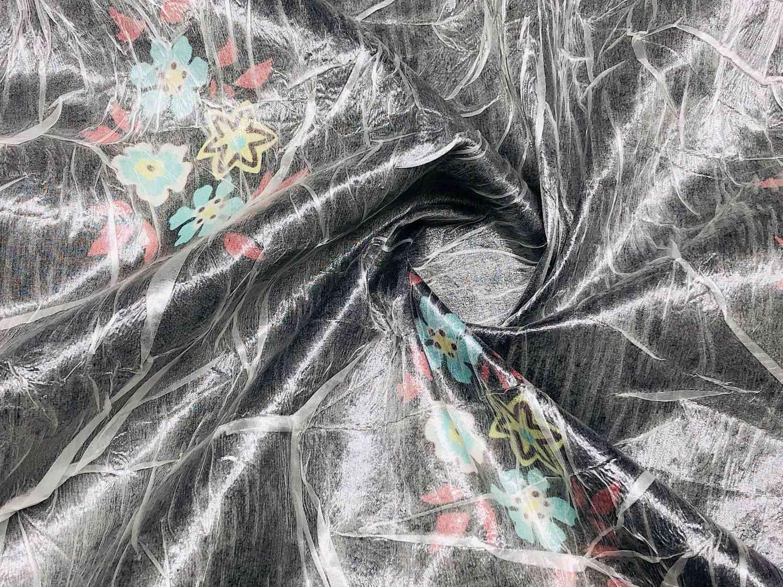 Printed Fabrics - chiffonude - CHIFFONUDE Silk Polyester