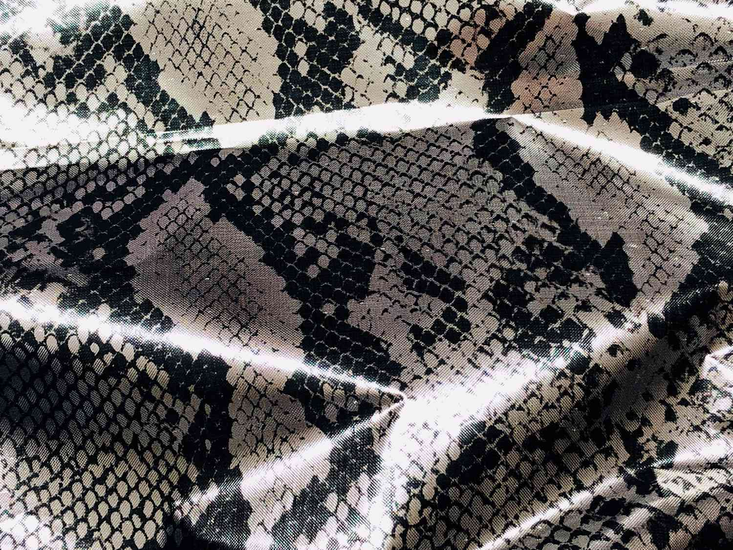 Printed Fabrics - silver - SILVER Polyester