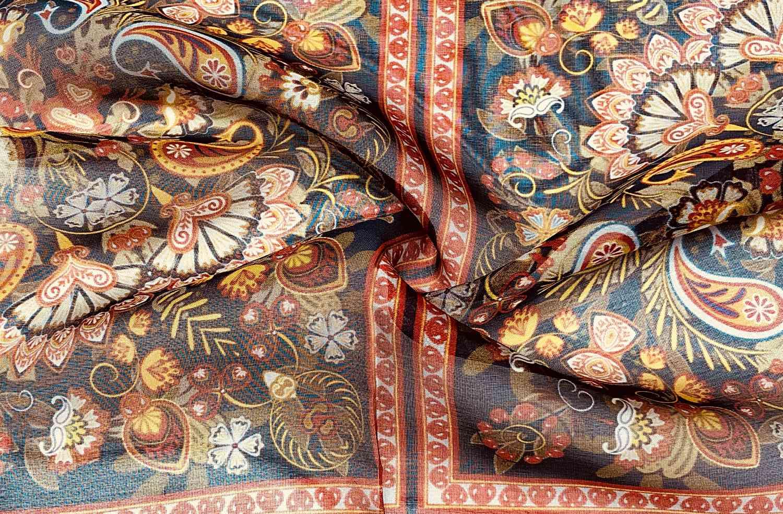 Printed Fabrics - chiffon vise 8mm - CHIFFON VISE 8MM Silk Viscose