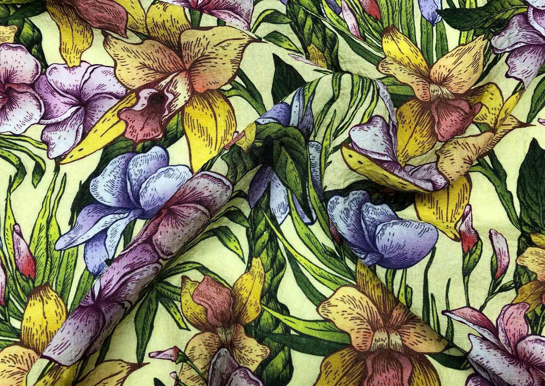 Printed Fabrics - lino light - LINO LIGHT Linen