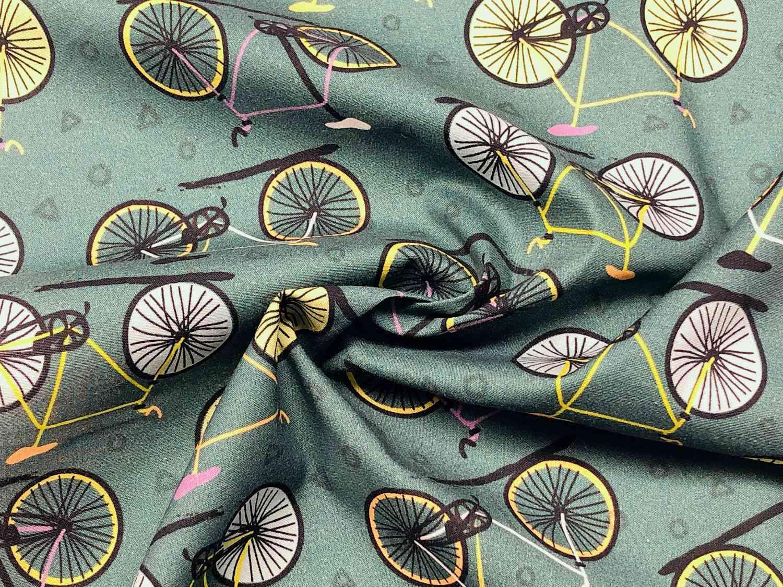 Printed Fabrics - uvapop - UVAPOP Cotton Elastan