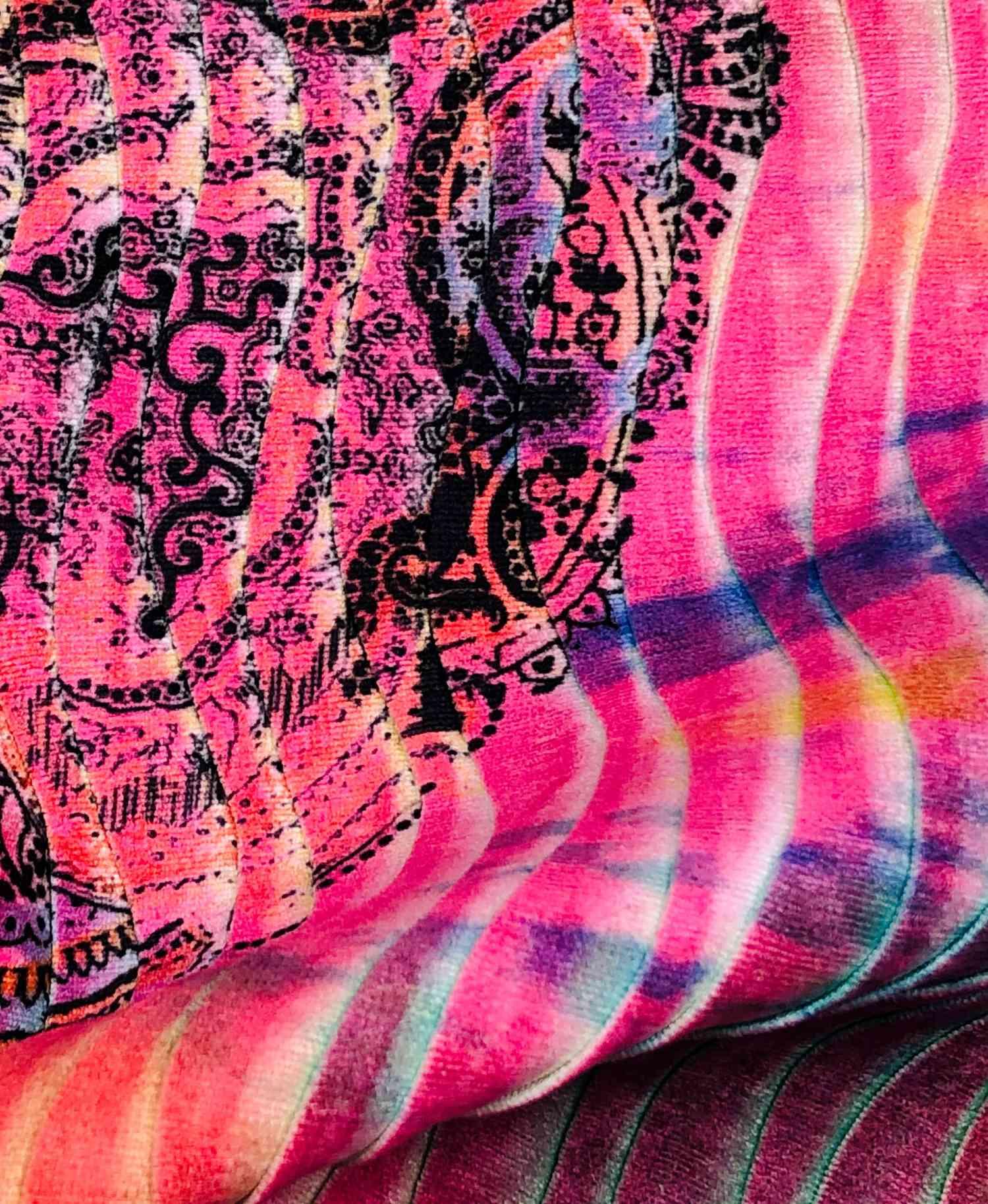 Printed Fabrics - versonda999 - VERSONDA999 Polyester Nylon Polyammide Elastan
