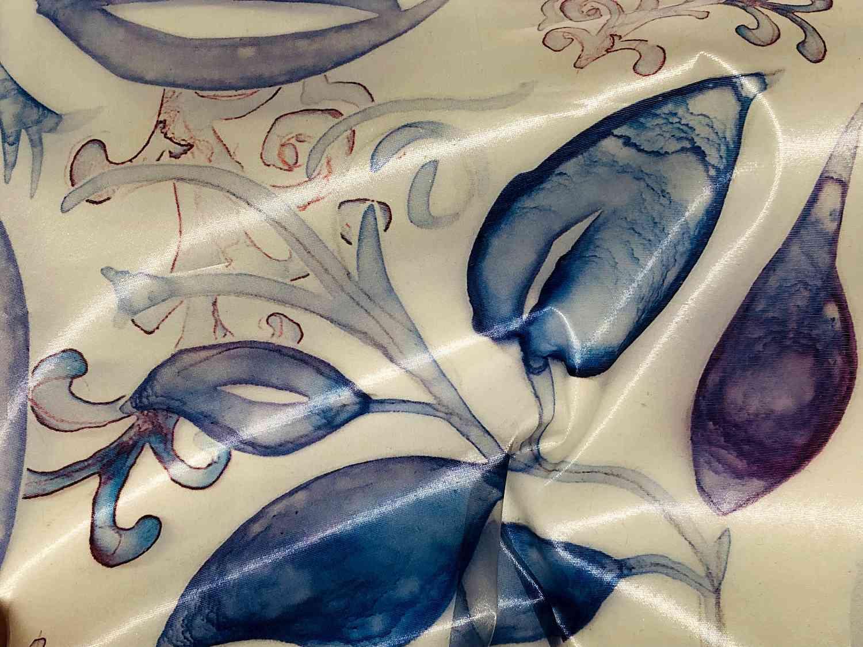 Printed Fabrics - nudesilk - NUDESILK Polyester Silk