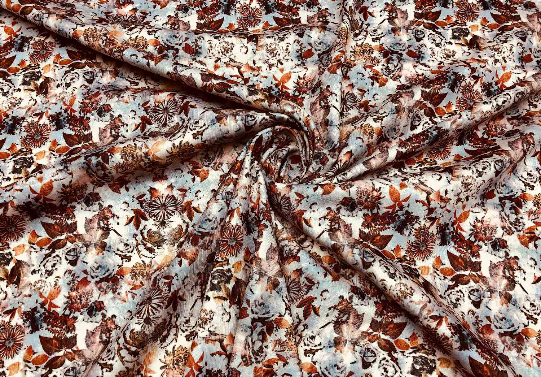Printed Fabrics - punto milano - PUNTO MILANO Elastan Polyester