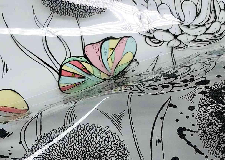 Printed Fabrics - glass - GLASS Polyurethane
