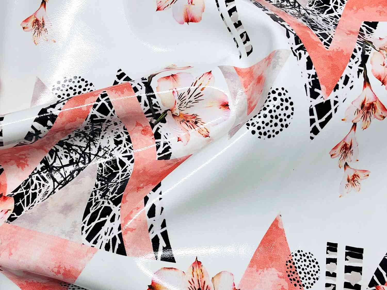Printed Fabrics - latex bright - LATEX BRIGHT Polyurethane Polyester