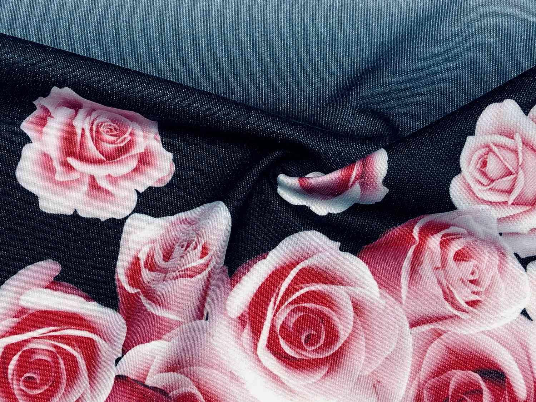Printed Fabrics - felpa pl - FELPA PL Polyester Cotton Elastan