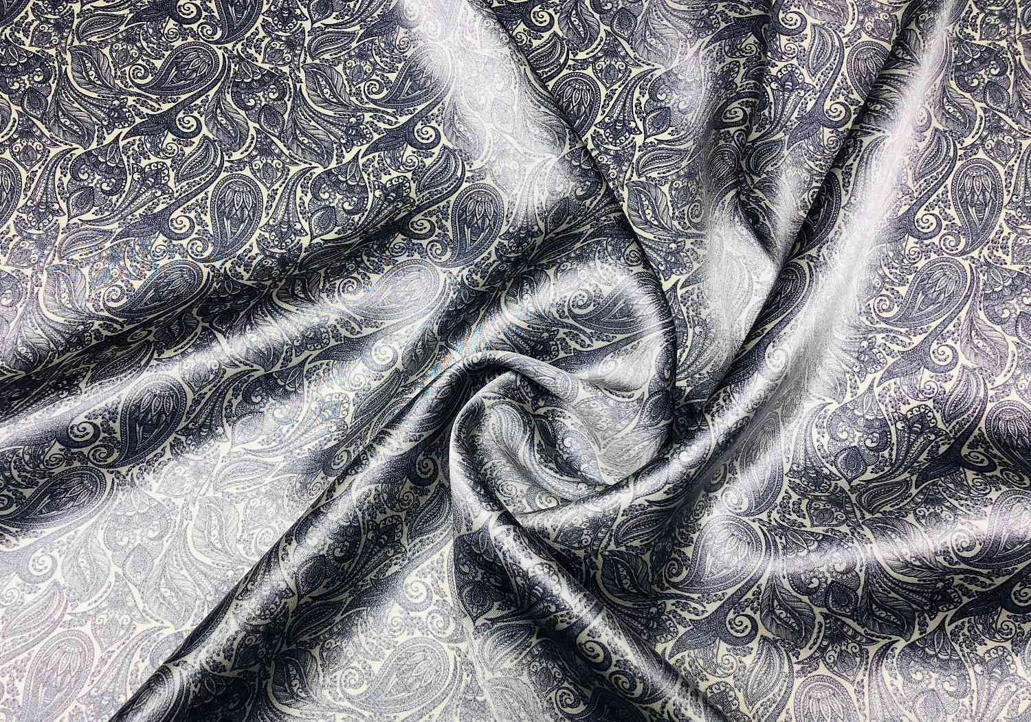 Printed Fabrics - silk satin 16mm - SILK SATIN 16MM Silk