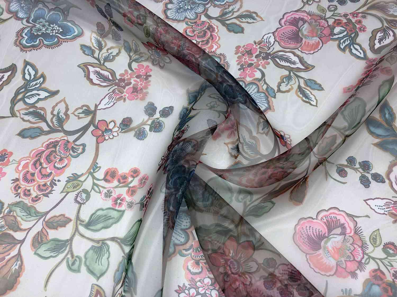 Printed Fabrics - shiny organza - SHINY ORGANZA Polyester