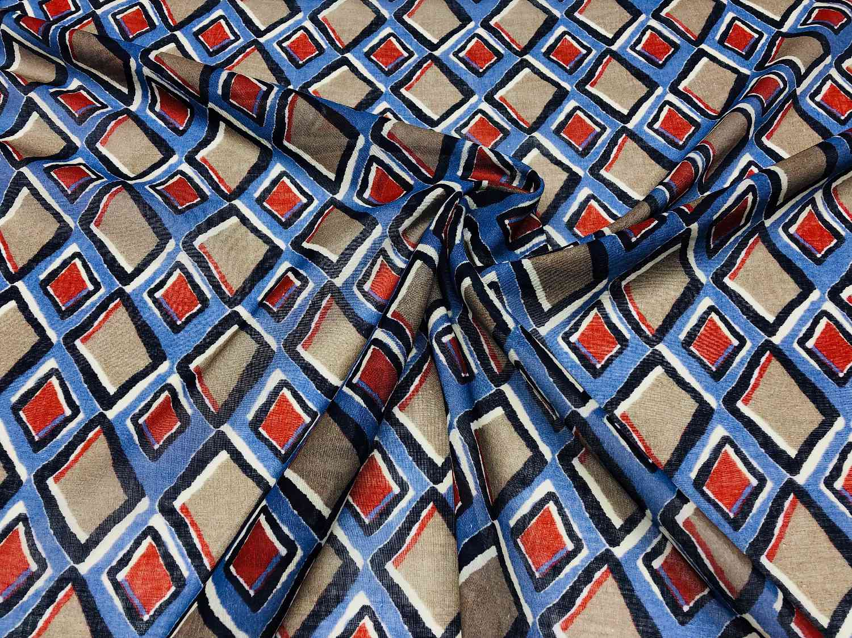 Printed Fabrics - garza cotton - GARZA COTTON Cotton