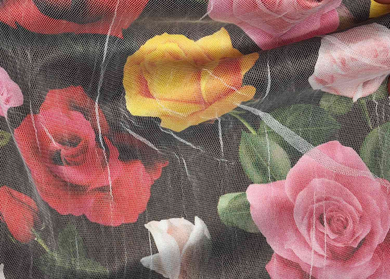 Printed Fabrics - satulle - SATULLE Viscose Polyester