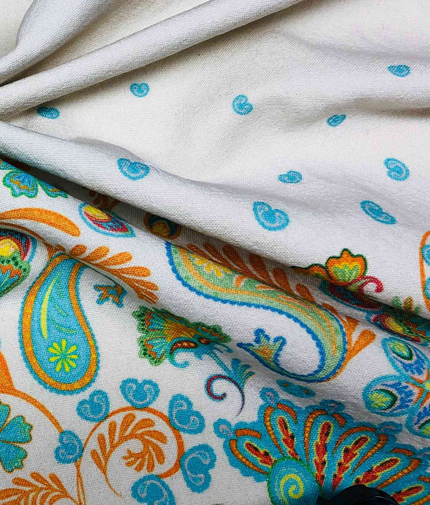 Printed Fabrics - pogo - POGO Cotton Linen