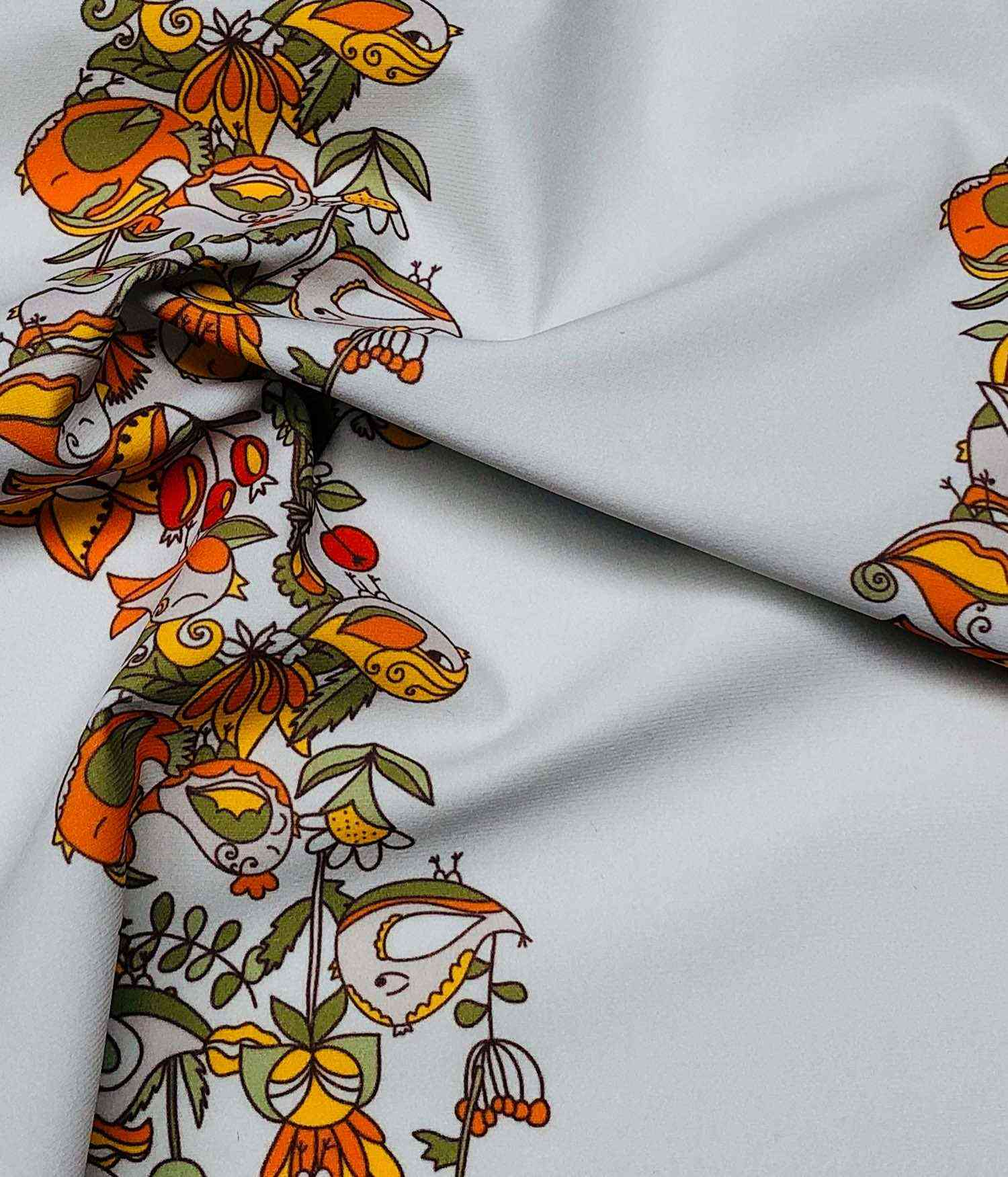 Printed Fabrics - kenshiro - KENSHIRO Polyester Elastan