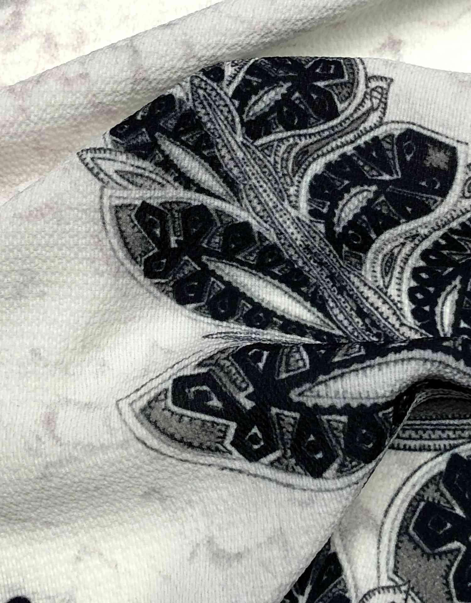 Printed Fabrics - butter - BUTTER Elastan Polyester