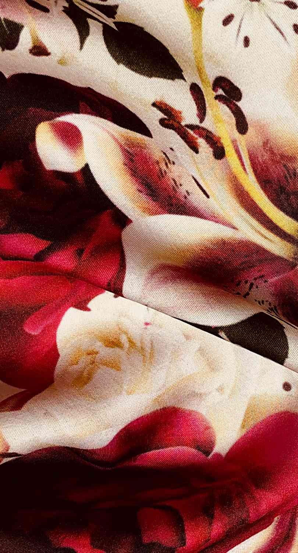 Printed Fabrics - satin ricca - SATIN RICCA Viscose