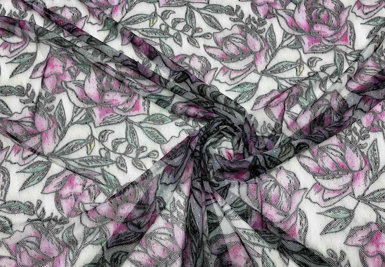 Printed Fabrics - laize 353 - LAIZE 353 Nylon Polyammide Elastan