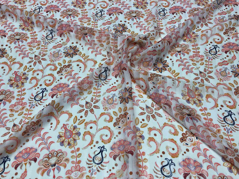 Printed Fabrics - riga - RIGA Polyester