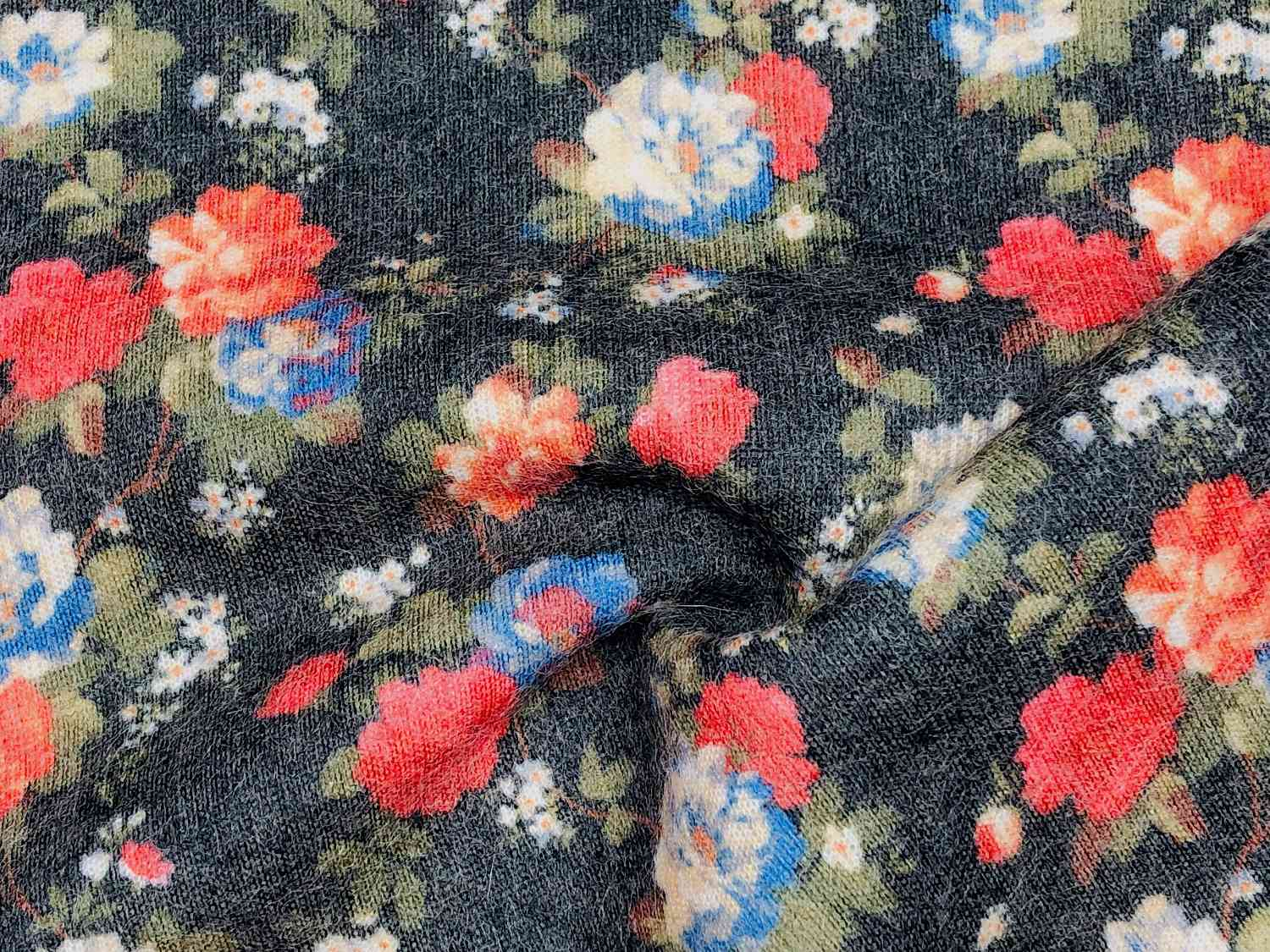 Printed Fabrics - queen wool 400 - QUEEN WOOL 400 Wool Polyester